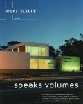 """Speaking Volumes"" Architecture Magazine"